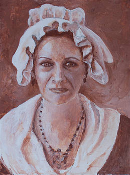 Portrait of a Woman by Don Perino