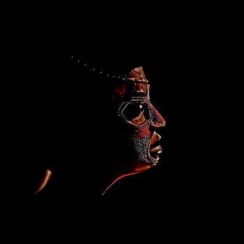 Portrait of a Woman by Stuart Harrison