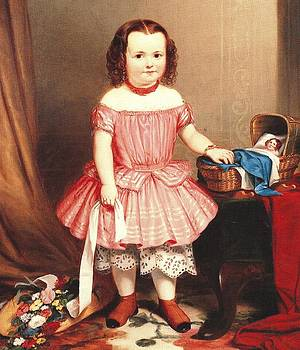 Portrait of a Young Girl by James Cafferty