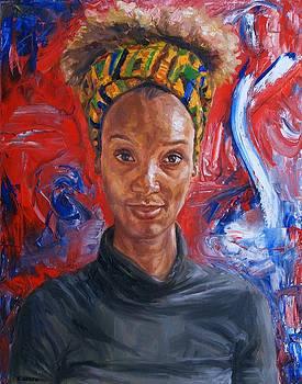 Portrait of Afua by Edward Ofosu