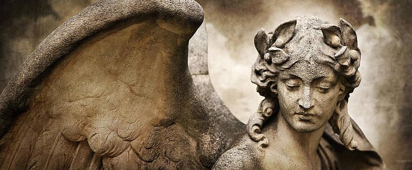 Portrait Of An Angel by Marc Huebner