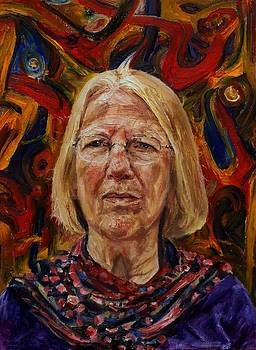 Portrait of Ann by Edward Ofosu