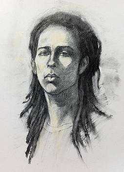 Portrait of Ash by Roz McQuillan