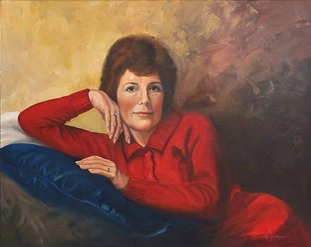 Portrait of Donna by Sherri Anderson