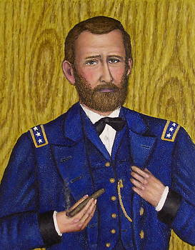 Portrait of General Ulysses S. Grant by Stephen Warde Anderson