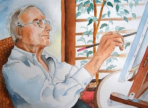 Portrait of Gerald Goldstein by Judy Swerlick