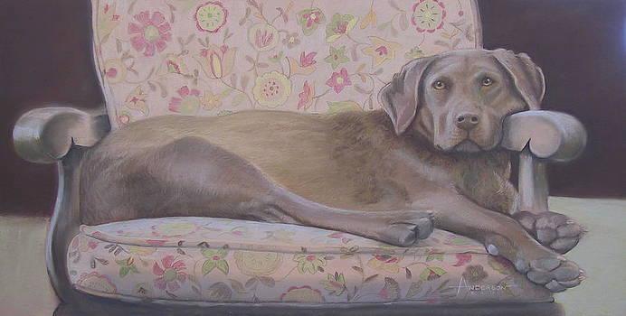 Portrait of Helga by Sherri Anderson