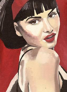 Portrait of Jenny Bauer by Stephen Panoushek
