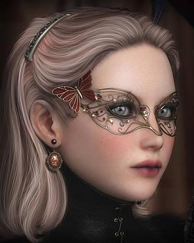 Portrait of Lady Crowley by Rachel Dudley