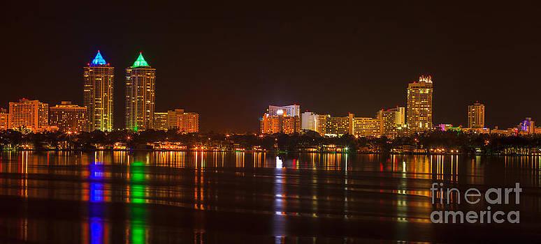 Portrait of Miami Beach by Nicholas Tancredi