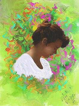 Portrait of Mila by Michael Malicoat