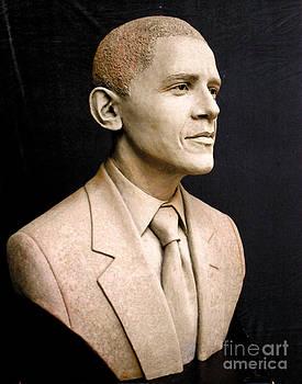 Portrait of President Barack Obama by Tsvetana Yvanova