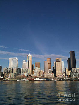 Portrait of Seattle by Jackie Carr