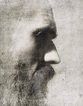Portrait of the Artist by Vladas Orzekauskas