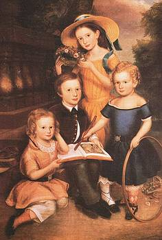 Portrait of the Emery Children by Unidentified Artist
