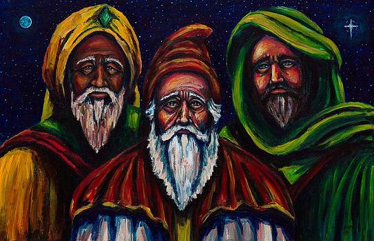 Portrait of the Three Wise Men by Kevin Richard