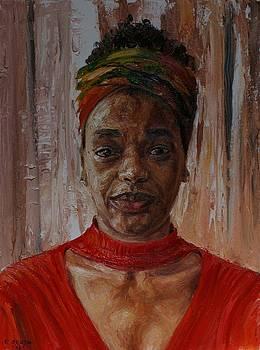 Portrait of Valerie by Edward Ofosu
