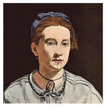 Edouard Manet - Portrait of Victorine Meurend