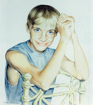 Portrait of Yury by Alena Nikifarava
