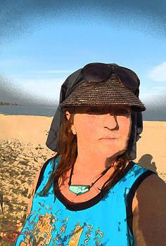 Colette V Hera  Guggenheim  - Portrait Sinai Beach Egypt