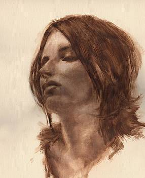 Portrait Study 2 by Stuart Gilbert