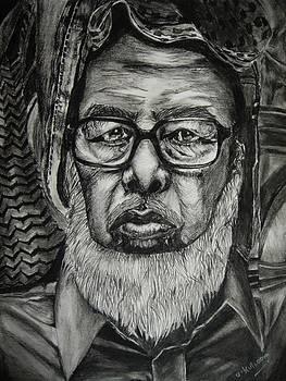 Portrait by Umme Kulsoom