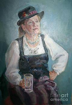 Portrait w by Victoria Tekhtilova