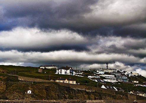 Portreath on the Hillside by Paul Howarth