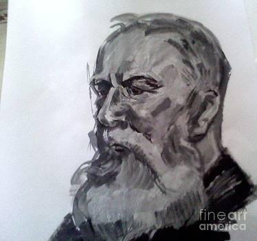 Portret 1 by Victoria  Tekhtilova
