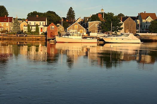 Portsmouth Harbor NH by Gail Maloney