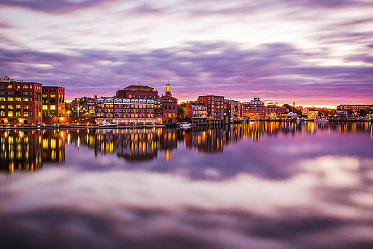 Portsmouth Waterfront by Robert Clifford
