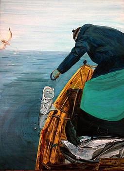 Portuguese Fisherman by Randy Bell