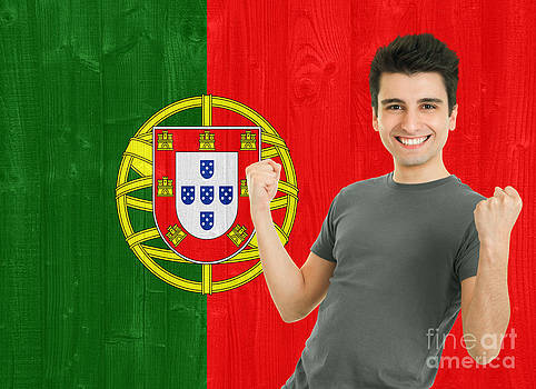 Portuguese Sports Fan by Luis Alvarenga