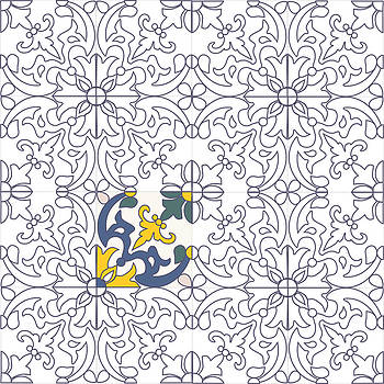 Portuguese tiles #02 by Marcos Rodrigues
