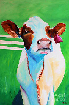 Posing Cow by Todd Bandy