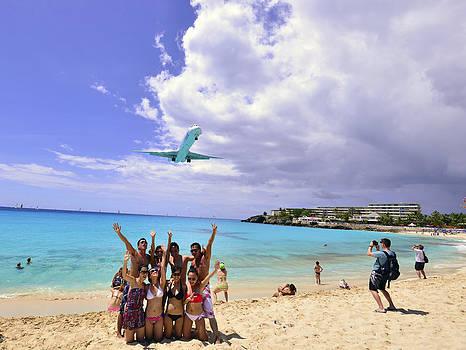 Matt Swinden - Posing with the plane