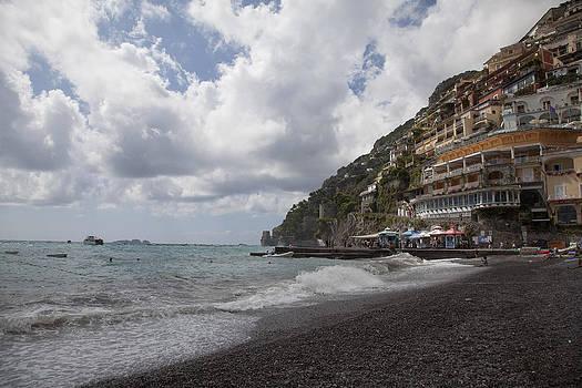 Positano Beach by Denise Rafkind