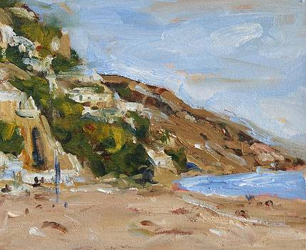 Positano Beach by Owen Hunt