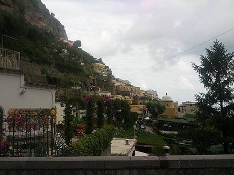 Positano Italy II by Shesh Tantry