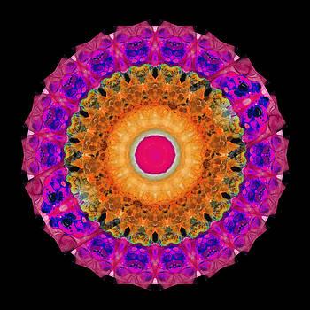 Sharon Cummings - Positive Energy 1 - Mandala Art By Sharon Cummings
