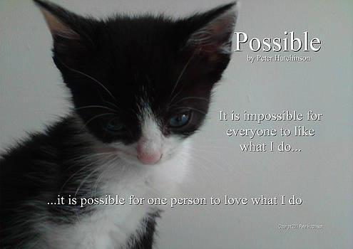 Possible by Peter Hutchinson