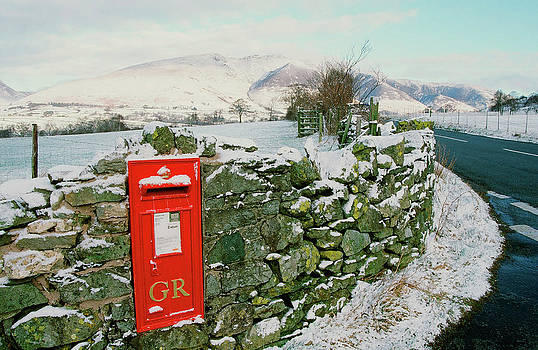 Post Box In St Johns In The Vale by Ashley Cooper