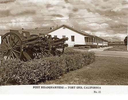 California Views Mr Pat Hathaway Archives - Post Headquaters Fort Ord Army Base Monterey Calif 1950