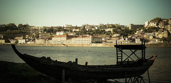 Postal del puerto. Postcard from Porto. by Alicia Garcia Monedero