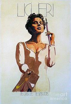 Poster Rosellini by Jose Maria Diaz Ligueri