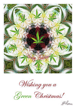 Diana Haronis - Pot Leaf Mandala
