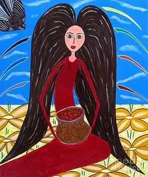 Pot of Gold by Sandra Marie Adams