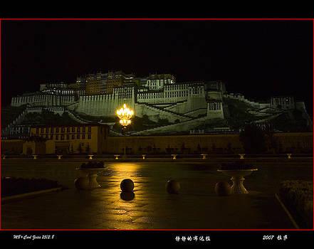 Potala Palace in Tibet by Yan Li