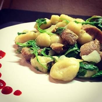 Potato Gnocchi + Lemon Butter Reduction by Joshua Plant