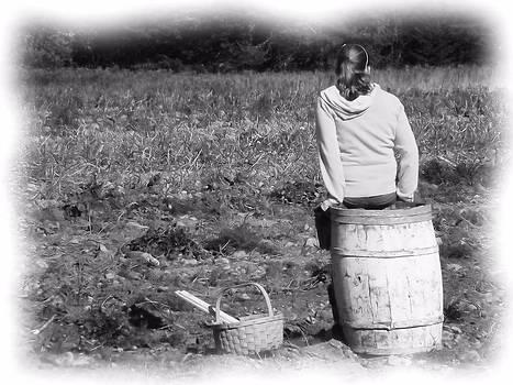 Potato Harvest 9 by Gene Cyr